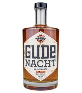 Gude Nacht - Kräuterlikör mit Honig - (0,5L / 33% Vol.alc.) - 1