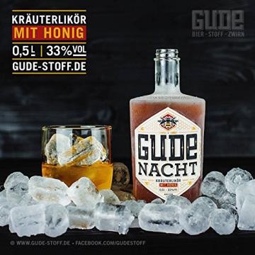 Gude Nacht - Kräuterlikör mit Honig - (0,5L / 33% Vol.alc.) - 2