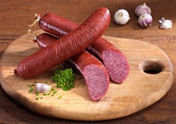 Knofelhex – die Knoblauch-Salami -