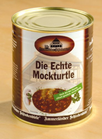 Mockturtle Suppe -