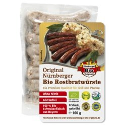 Original Nürnberger Rostbratwürste von Nürnberger Bio Originale -