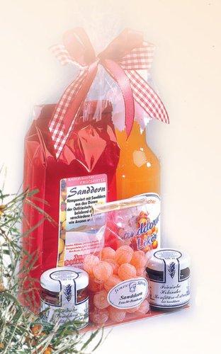 Ostfriesisches Sanddorn Spezialitäten Geschenkset -