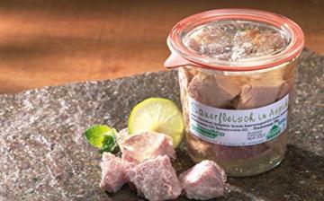 Sauerfleisch in Aspik -